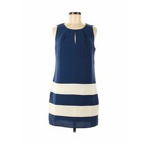 Forever 21 Navy & White Mini Dress Size Small